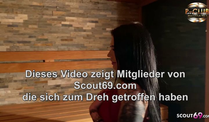 Teen - Real German Prostitute Snowwhite At Reverse Group Sex At Sauna